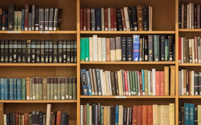 Faculty Library Shelves