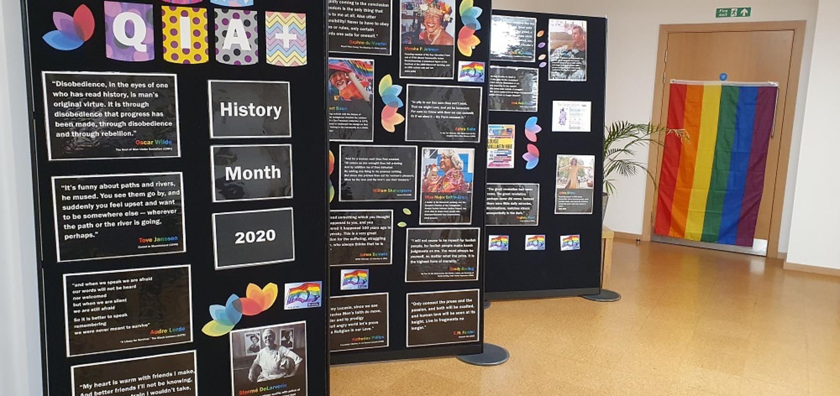 lgbt history month display