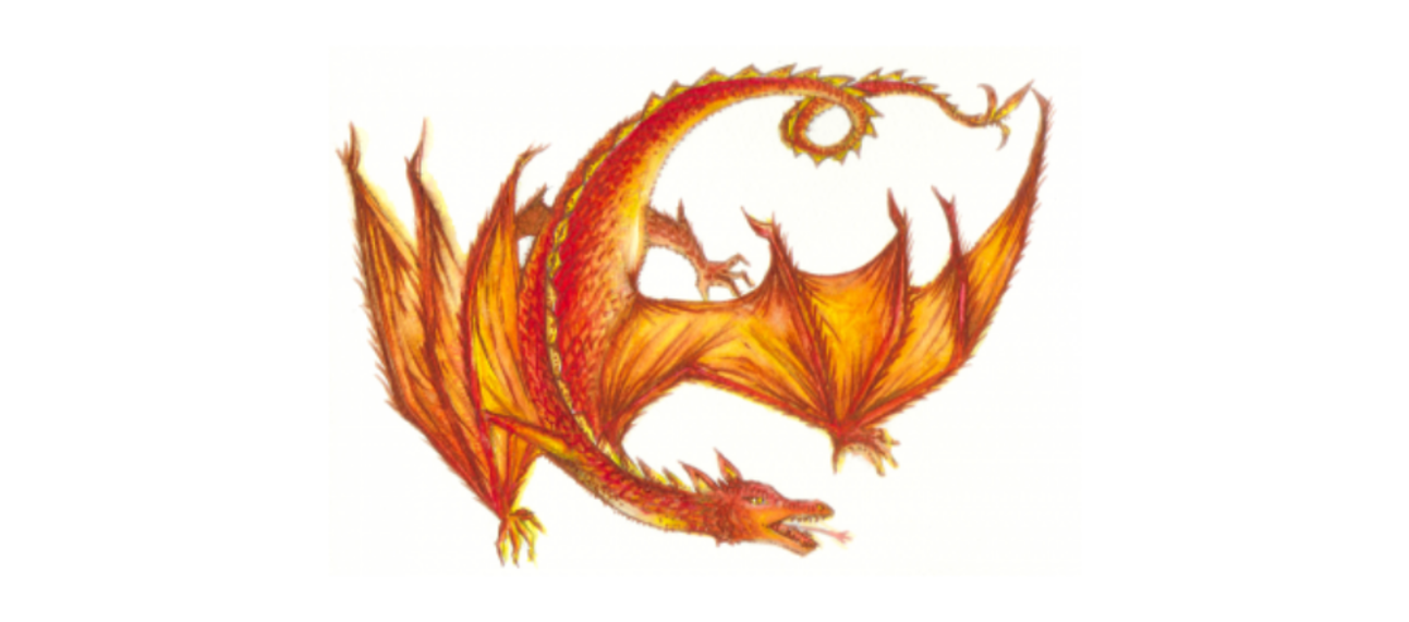 Fantasy Literature resources dragon logo