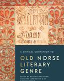 A Critical Companion to Old Norse Literary Genre book cover