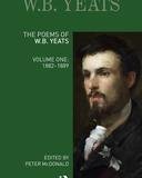 The Poems of WB Yeats Volume One book cover