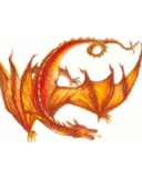 Fantasy Literature resources dragon logo