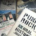 Image of books from History and English student