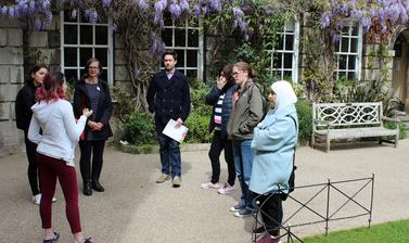 Tour of Hertford College