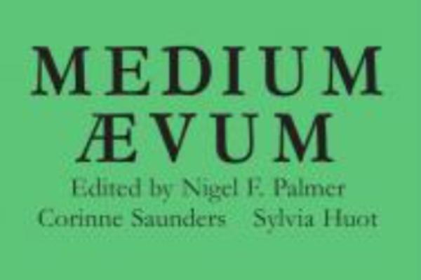 Medium Aevum journal cover