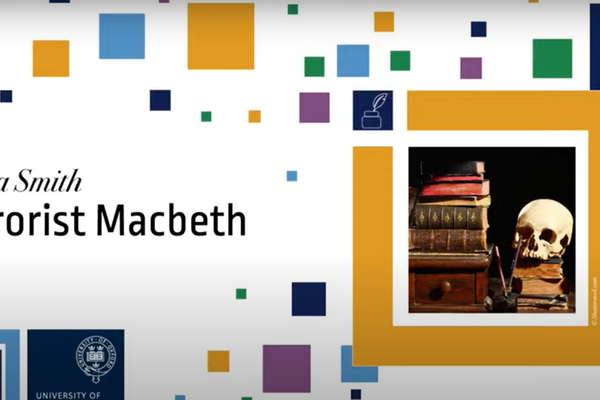 title screen of Emma Smith Shakespeare recording