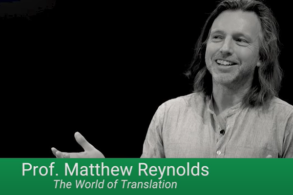 Matthew Reynolds giving talk at Google