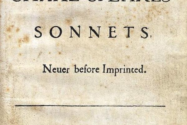 shakespear sonnets title page