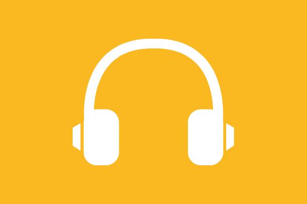 audio podcast logo