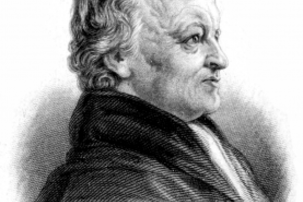 William Blake side portrait