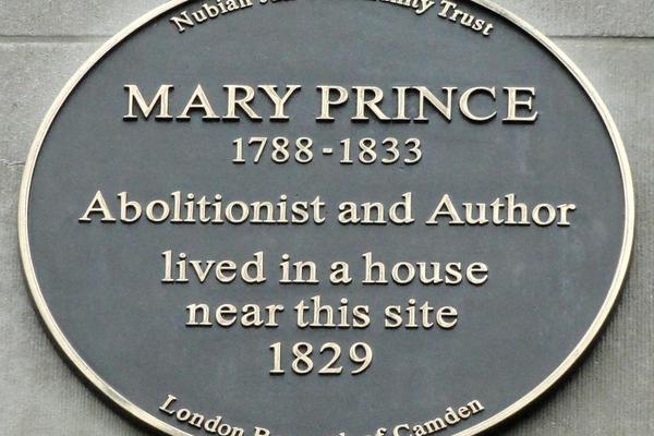 mary prince plaque