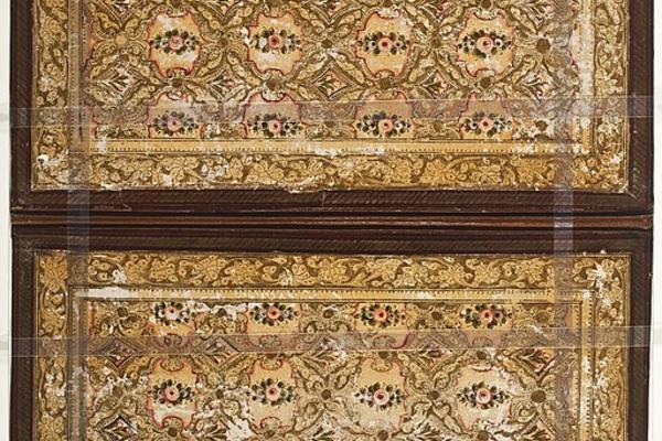 ornate book cover