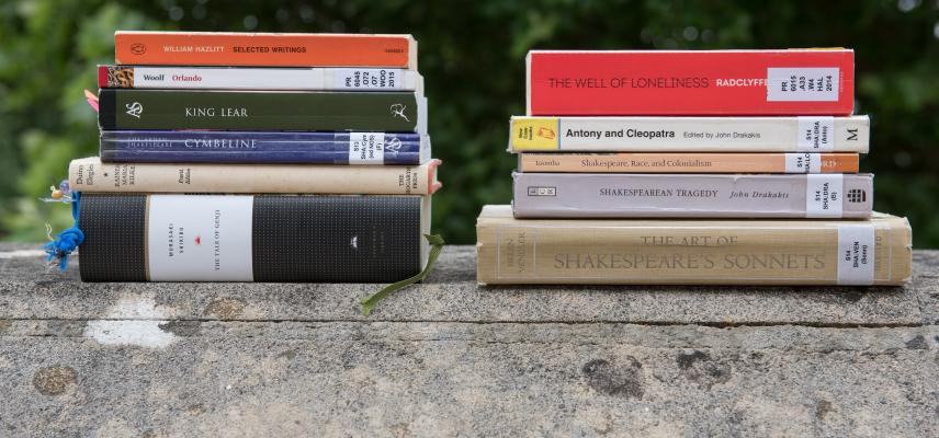 Image of English Faculty books
