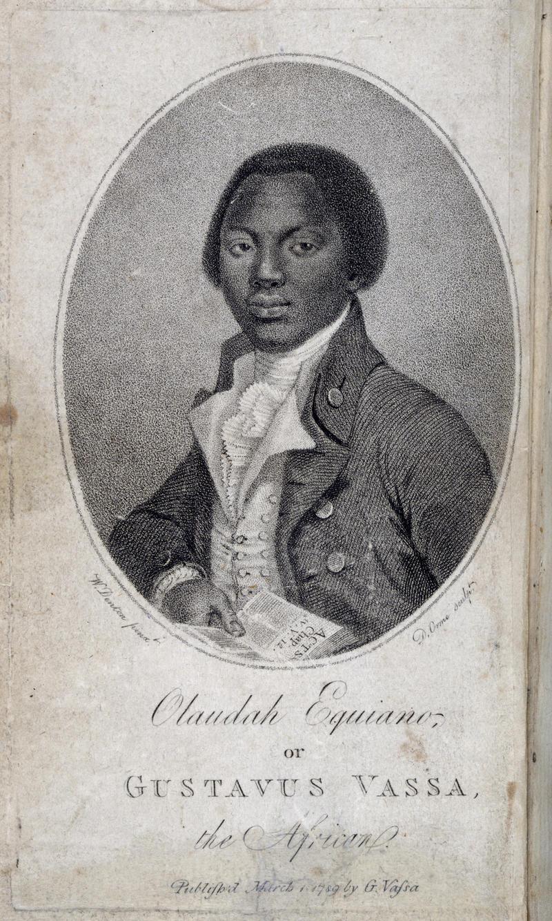 Olaudah Equiano frontispiece