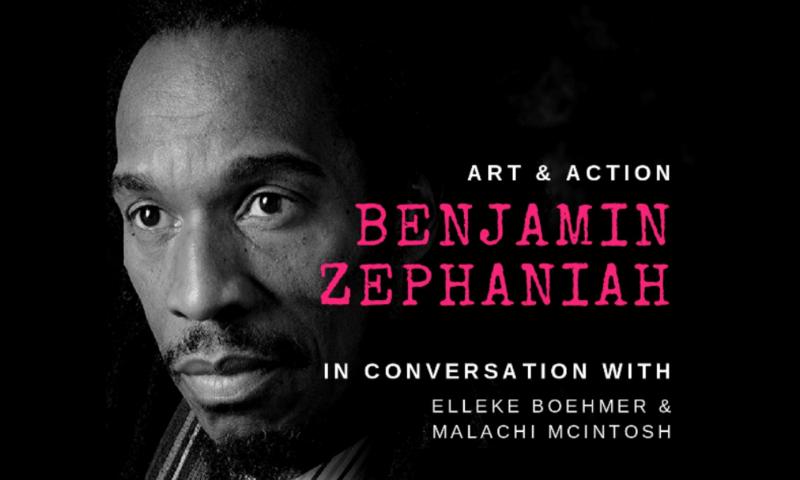 benjamin zephaniah event poster