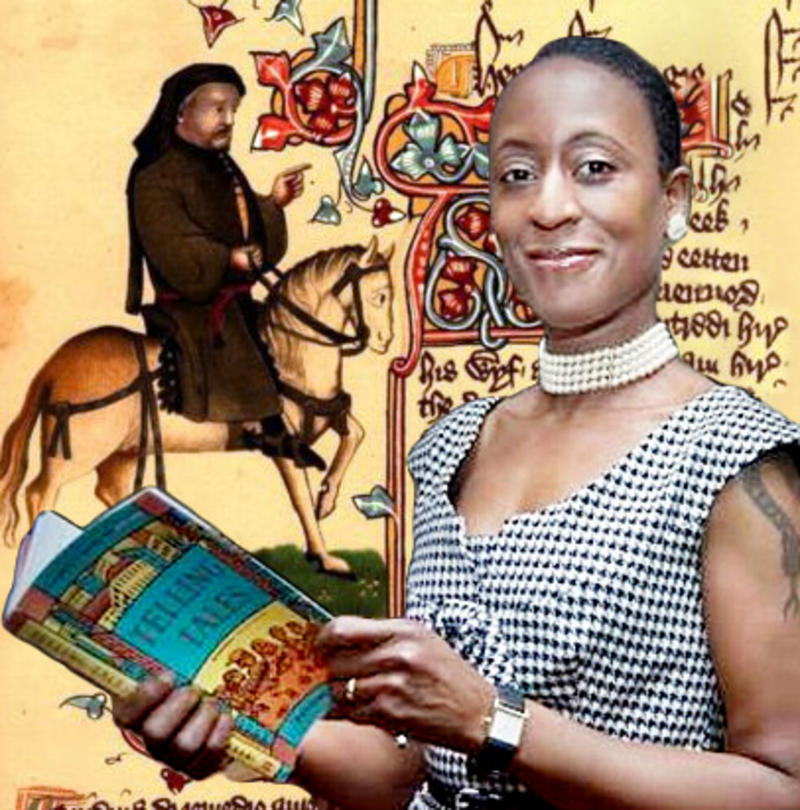 Geoffrey Chaucer and Patience Agbabi