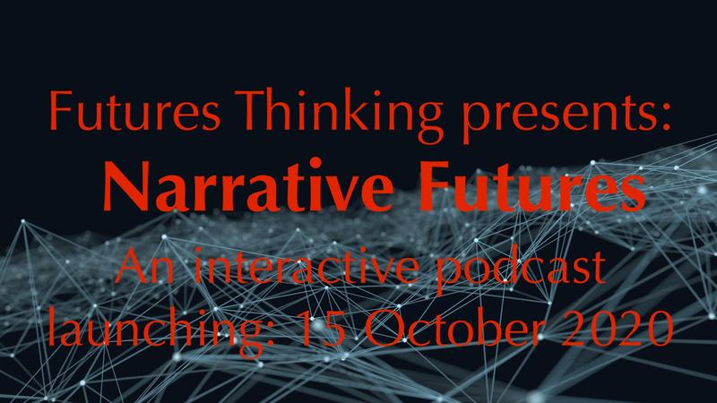 Narratives Futures podcast logo
