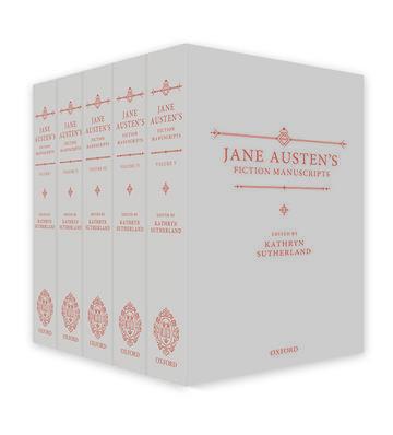 jane austens fiction manuscripts book cover