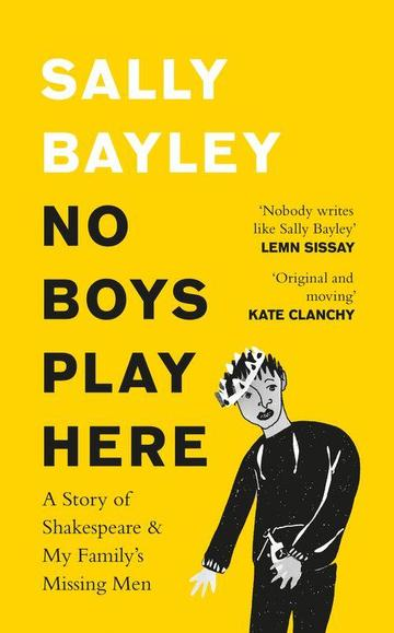 no boys play here book cover
