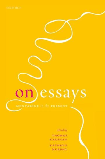 On Essays book cover