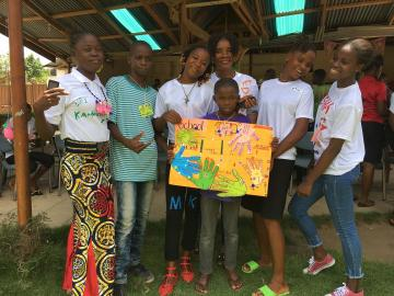 Teen Advisory Group Sierra Leone