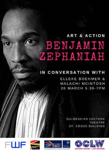 benjamin zephaniah poster