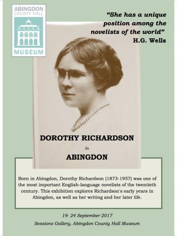 Dorothy Richardson Poster