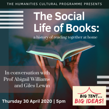 The Social Life of Books flyer