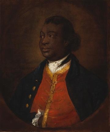 Portrait of Ignatius Sancho by Thomas Gainsborough, 1768