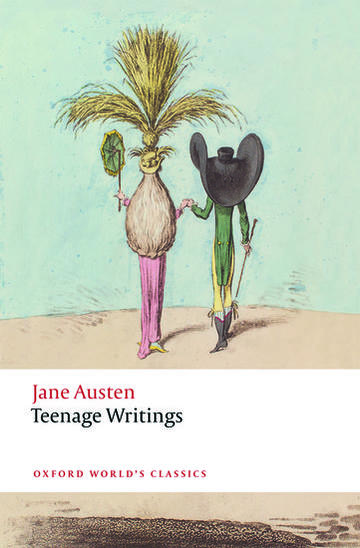 jane austen's teenage writings book cover