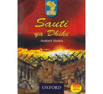 sauti ya dhiki book cover