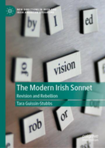 the modern irish sonnet book cover