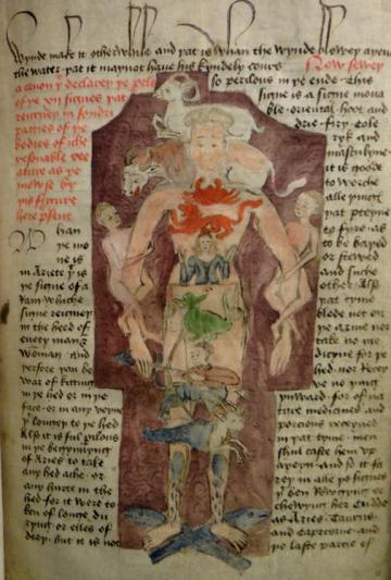 MS Ashmole 391, Part II, folio 3. Picture by Daniel Wakelin.
