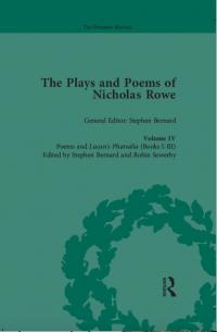 Book cover of The Plays and Poems of Nicholas Rowe