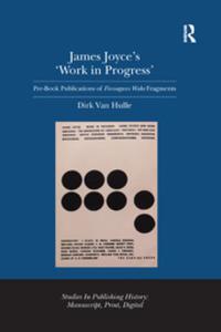 james joyces work in progress book cover