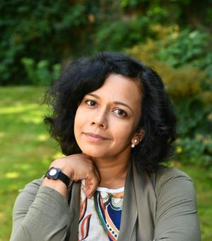 A photograph of Nandini Das