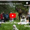medieval studies group perform mystery plays