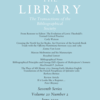 The Library Journal cover